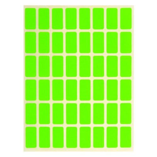 Ценови етикети зелени 12х23.5157