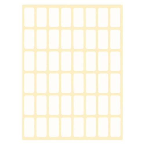 Ценови етикети бели 12х23.2130