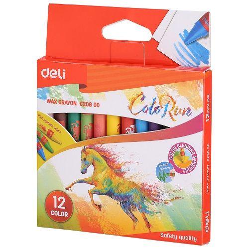 Восъчни пастели Deli Colorun EC20800.2120